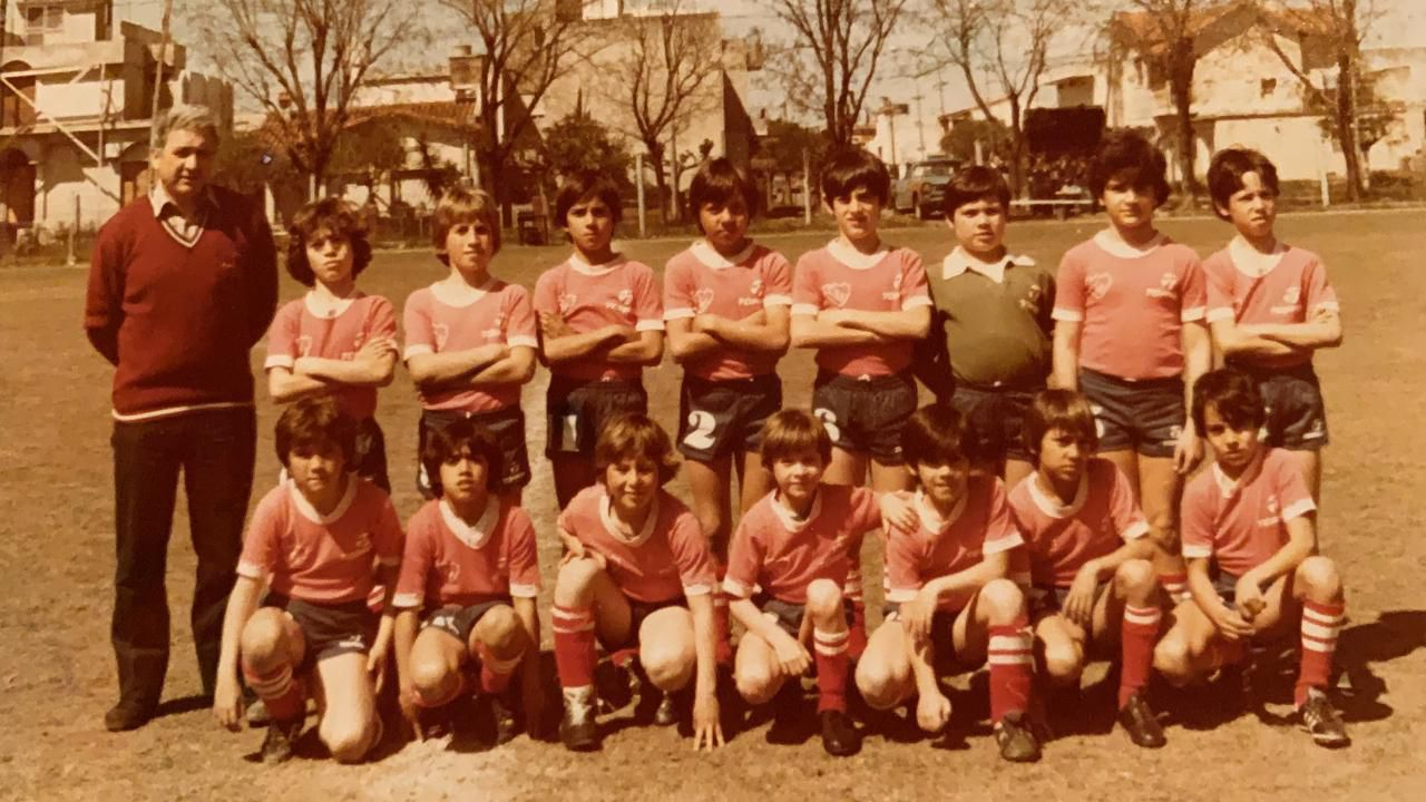 Sebastian Rambert, Rotchen y Gustavo Lopez - Inferiores de Independiente
