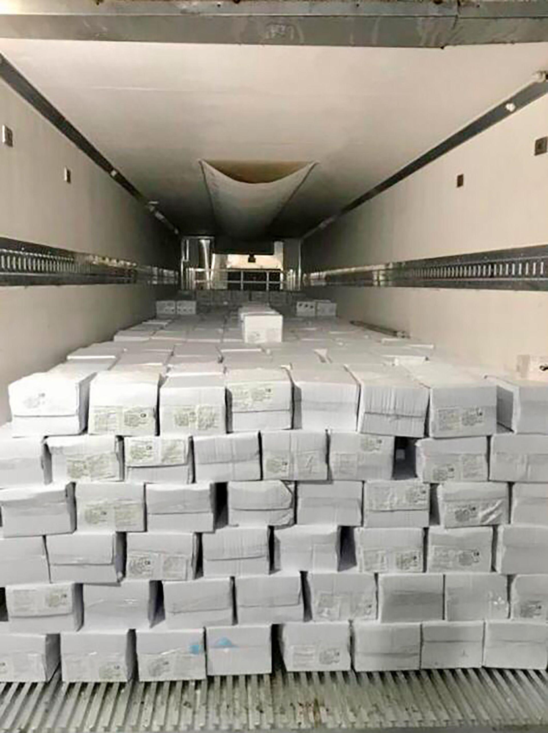 Exportación langostinos