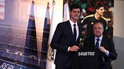 Thibaut Courtois, el fichaje estrella del Real Madrid en este mercado (Reuters)