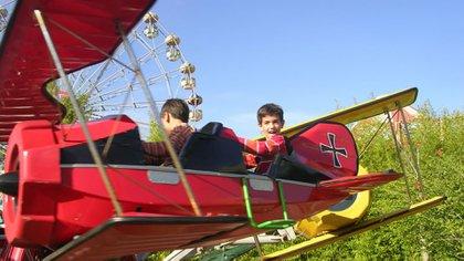 Ubicado en Tigre, es el parque de diversiones más grande en la Argentina (Parque de la Costa)