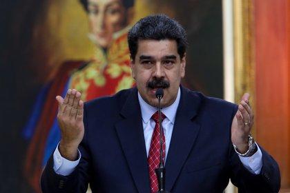 El dictador Nicolás Maduro criticó al gobierno española tras la salida de Venezuela de Leopoldo López (EFE)