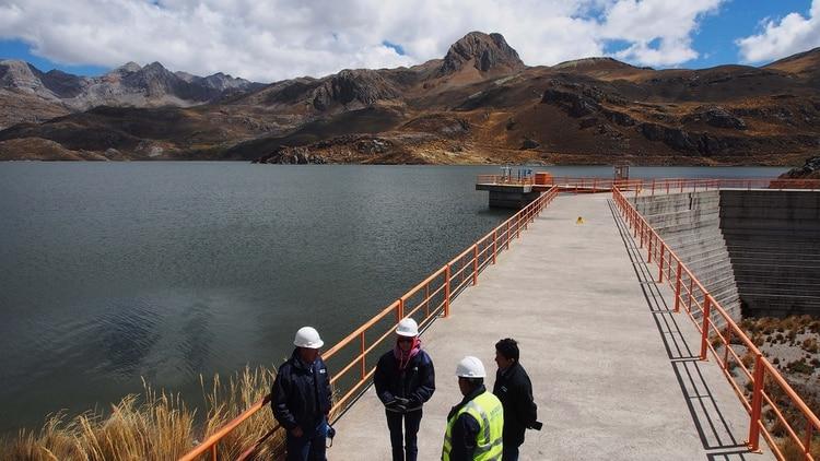 La laguna Marcapomacocha, clave para el suministro de agua para millones de personas (Shutterstock)