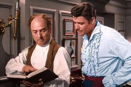 Gene Sheldon y Guy Williams