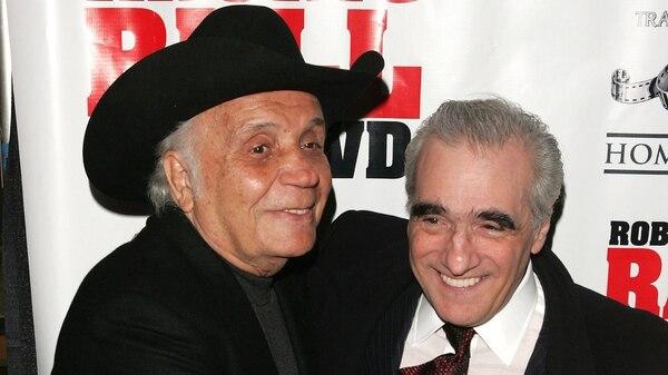 Scorsese y La Motta (Getty Images)