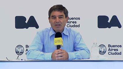Fernán Quirós explicó por qué la ciudad de Buenos Aires le pidió 50 respiradores al gobierno nacional