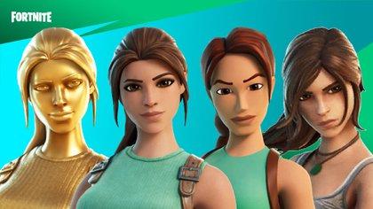 Lara Croft presenta cuatro versiones diferentes para desbloquear en el Pase de Batalla (Foto: Twitter)