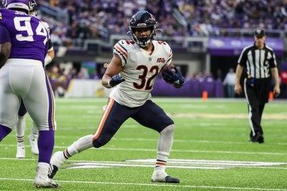 David Montgomery, de los Chicago Bears, es otra de las joyas a seguir (Foto: Brace Hemmelgarn/ USA TODAY Sports)