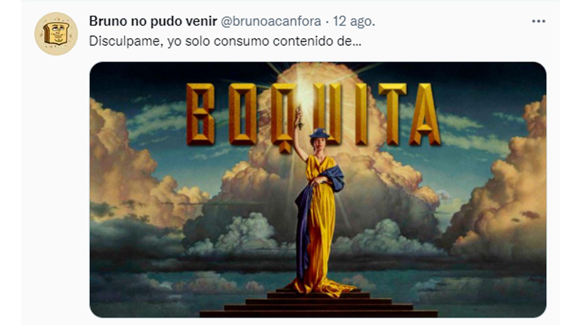 """Bruno Acanfora, el creador de los """"memes bosterizados"""""""