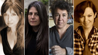 Matilde Sanchez, Selva Almada, Gabriela Cabezon Camara y Fernanda Garcia Lao
