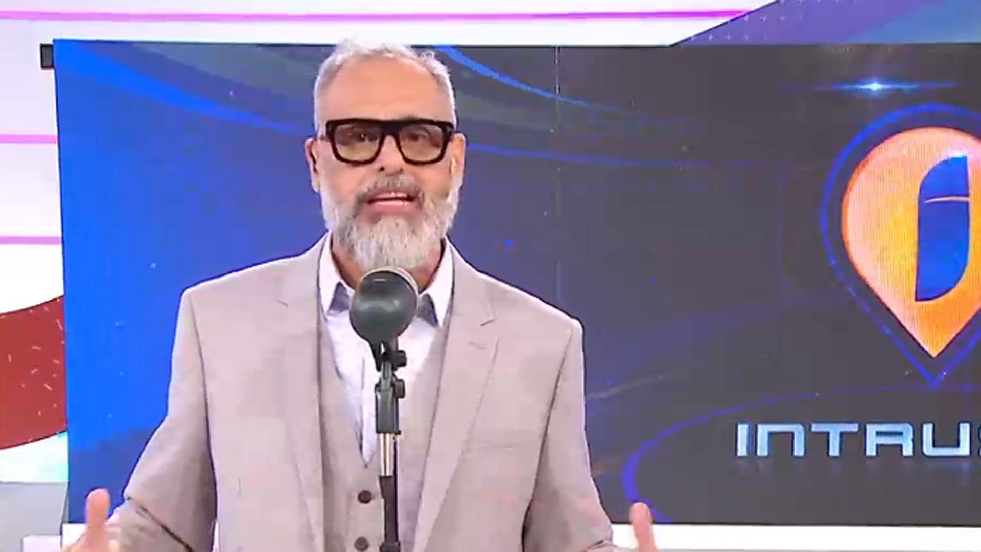 """Jorge Rial, en """"Intrusos"""""""