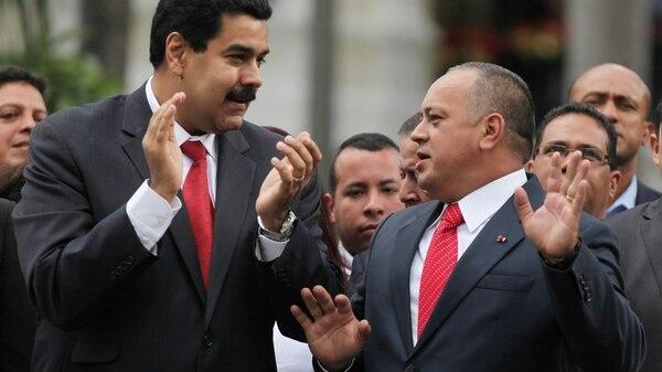 La Procuraduría de Colombia pidió la captura internacional de Nicolás Maduro y Diosdado Cabello