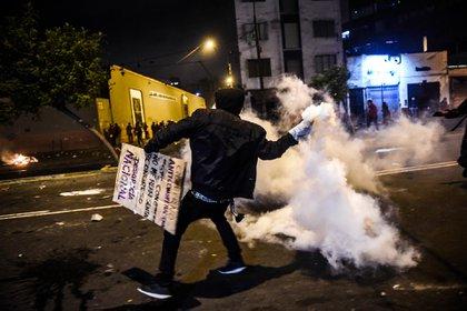 Se vivieron momentos de tensión (AFP)