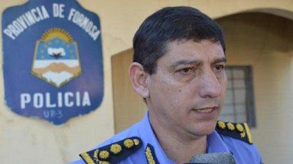 Subjefe de la policia de la provincia de Formosa, Comisario General, Cirilo Bobadilla