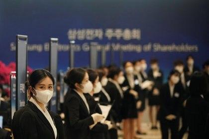 La OMS resaltó las medidas adoptadas por Corea del Sur para contener el avance del coronavirus (REUTERS/Kim Hong-Ji)