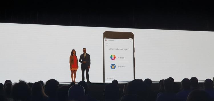 El juego Preguntados se integró al Asistente de Google.