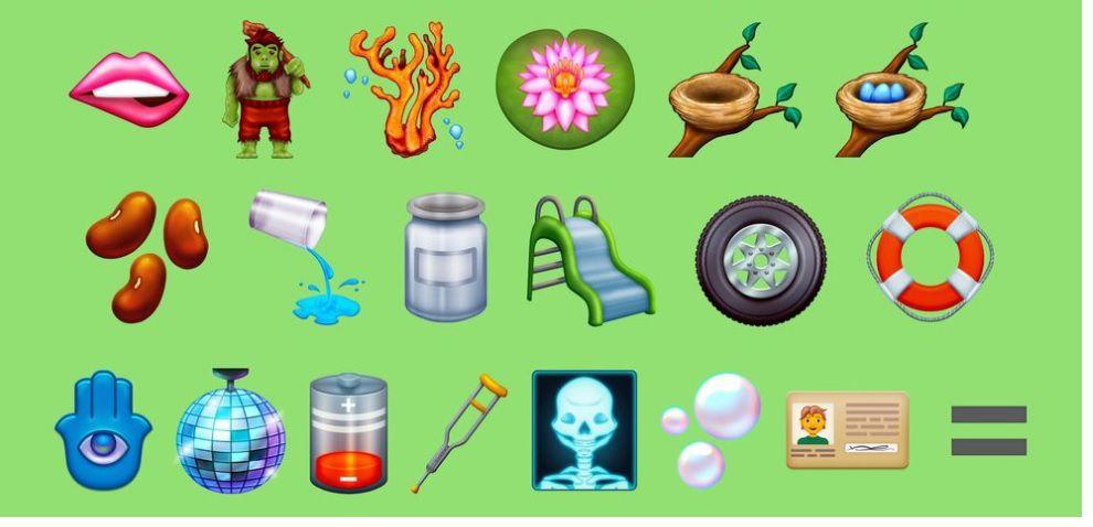 Emojis candidatos 2021