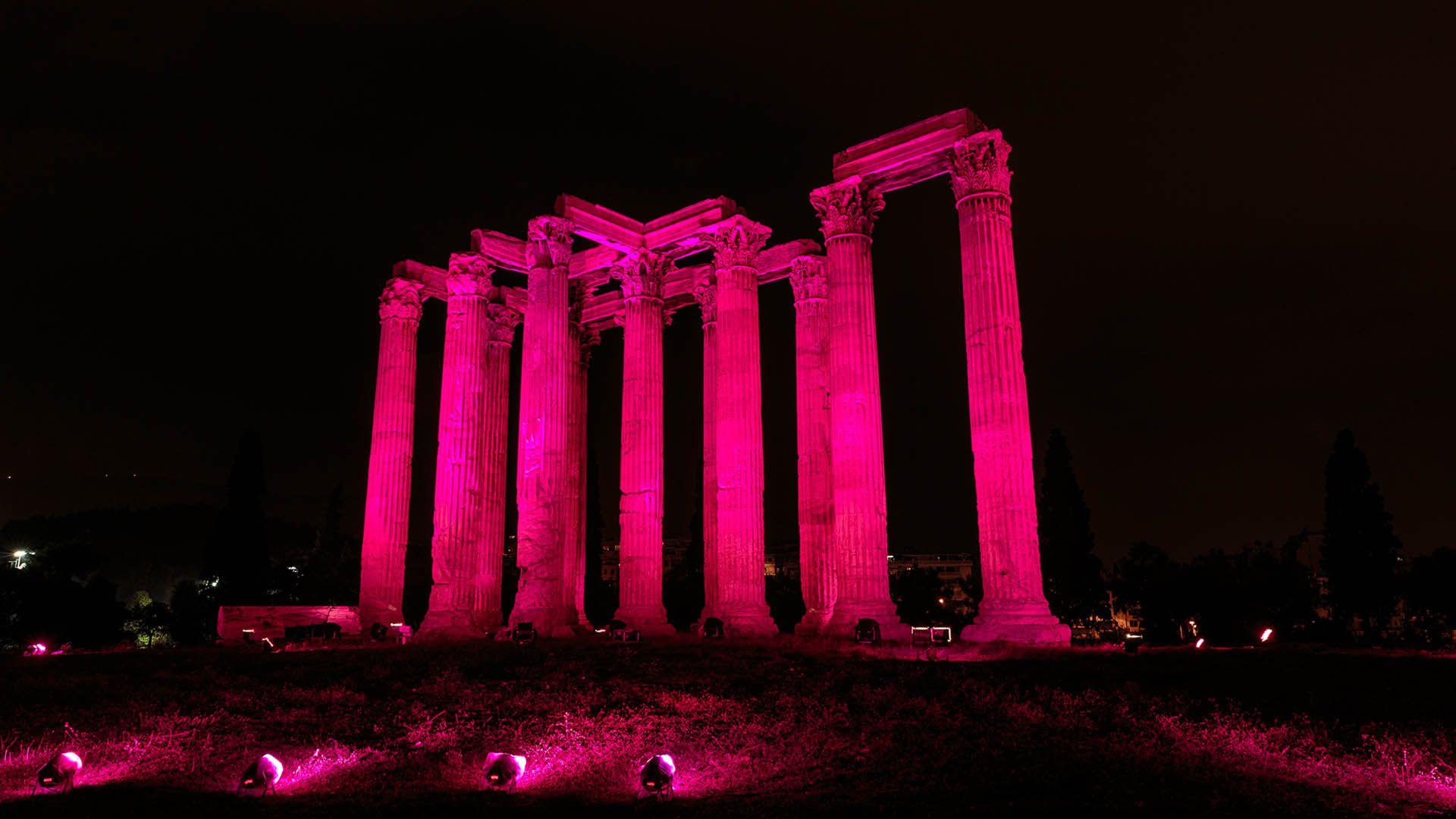 Iluminaciones cáncer de mama