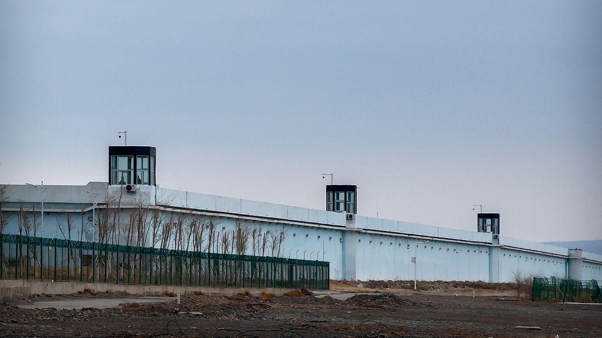 centro detencion carcel china Dabancheng