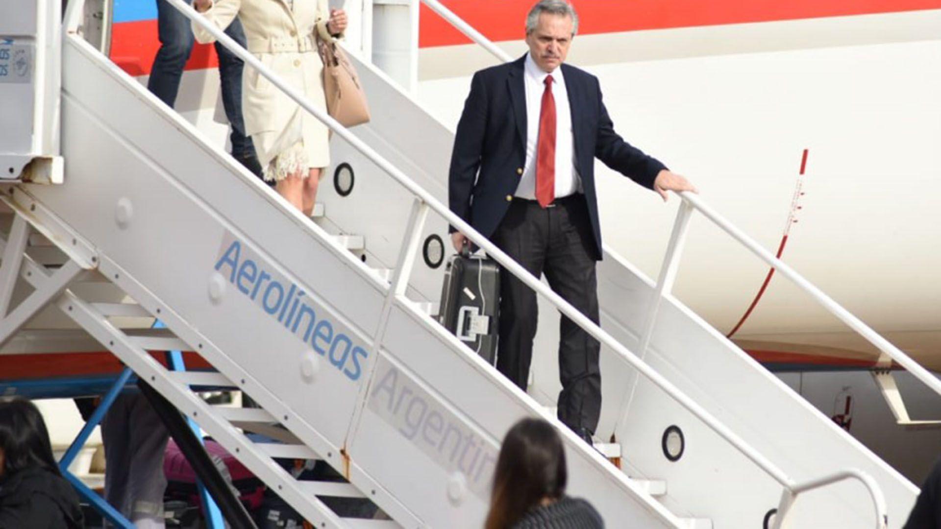 Alberto Fernández viajará mañana a Jerusalén