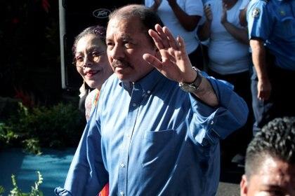 El presidente de Nicaragua, Daniel Ortega, modelo para Maduro (REUTERS/Oswaldo Rivas)