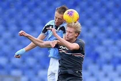 Futbolista noruego en el club italiano desde julio de 2019, proveniente del equipo holandés SC Heerenveen. Foto: REUTERS/Alberto Lingria