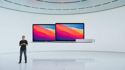 Nuevos MacBook y Mac Mini con procesadores M1 de Apple Silicon. (Foto: Apple)