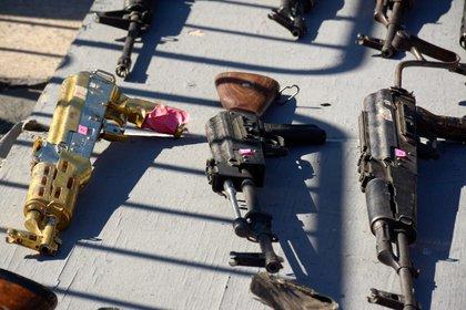 Fabricantes italianos han vendido y entregado 10,000 pistolas y 1,100 revólveres cada año, en promedio al mercado en México (Foto: Juan Carlos Cruz/Cuartoscuro)