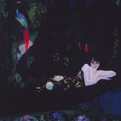 """Sonia de Klamery (echada)"" (1913) de Hermenegildo Anglada Camarasa"
