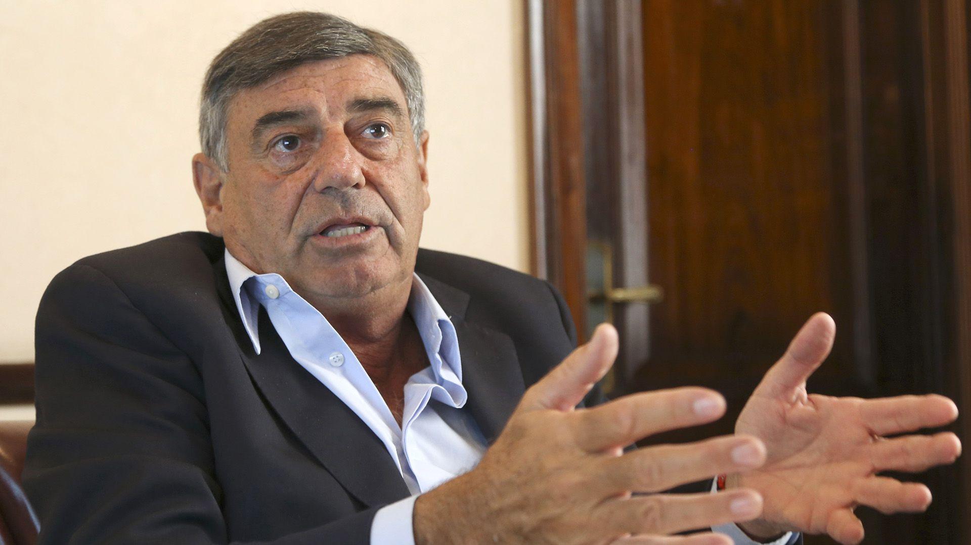 El ex senador Mario Cimadevilla, el último funcionario del Poder Ejecutivo que estuvo al frente de la coordinación de la UFI-AMIA. (NA)