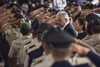 López Obrador respaldó a las Fuerzas Armadas por la detención de Cienfuegos Zepeda, pues ello no significa culpar a toda la institución (Foto: Mario Jasso/ Cuartoscuro)