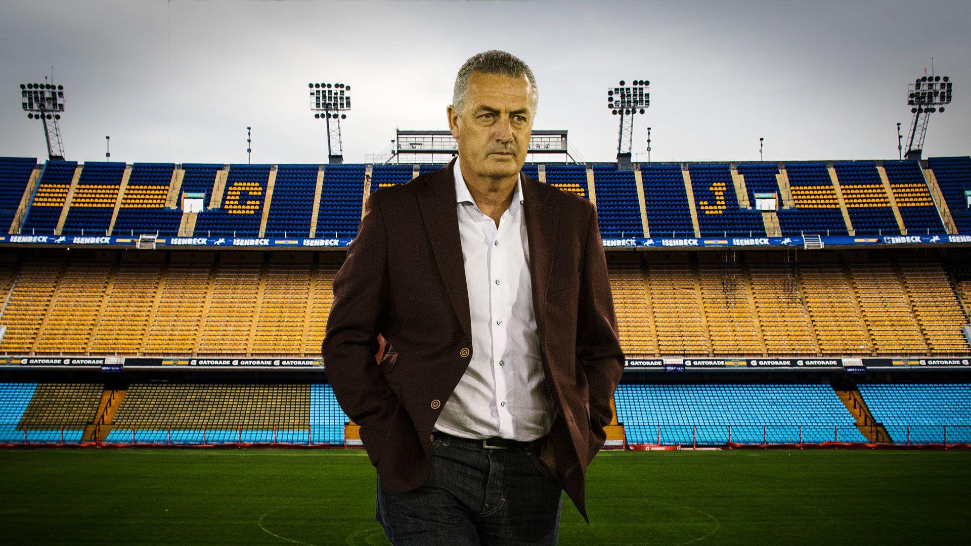 En caso de hacerse cargo de la selección ecuatoriana, Alfaro debutará en la Bombonera contra Argentina
