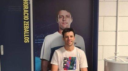 Objetivo cumplido: Horacio Zeballos cumplió su gran sueño de llegar al ATP Finals e hizo historia (Foto: @horaciozeballos)