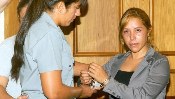 Silvia Luna estuvo presa en la cárcel de Florencio Varela (Télam)