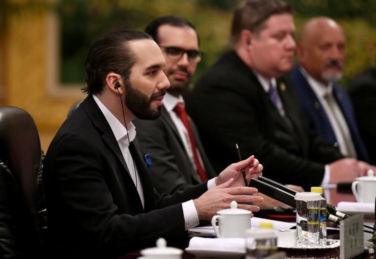 Nayib Bukele, presidente de El Salvador desde junio de 2019 (Noel Celis/Pool via REUTERS)