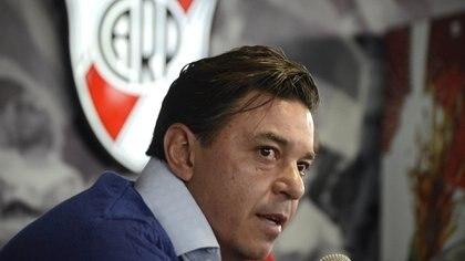 Marcelo Gallardo pidió cinco futbolistas de peso para ir por la Copa Libertadores 2018 (DyN)