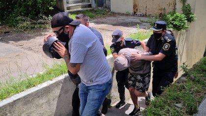 Andrés Bracamonte y Pablo Galvano fueron indagados y luego alojados en la Unidad Penal Nº 44 de Batán