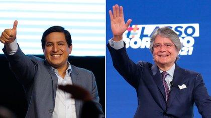 Andrés Arauz y Guillermo Lasso, los aspirantes a la presidencia de Ecuador