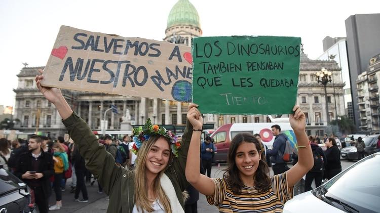 Las nuevas generaciones están más involucradas con la causa (Foto: Franco Fafasuli)