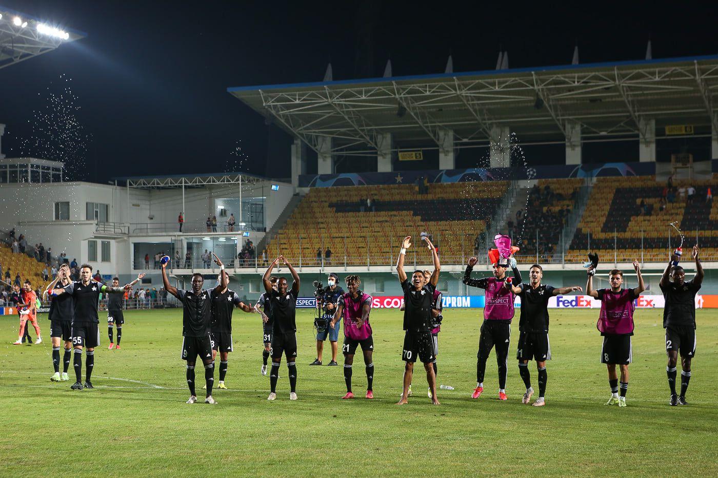 El Sheriff Tiraspol derrotó 3-0 a Dinamo Zagreb en el partido de clasificación a la fase de grupos