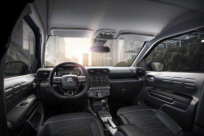 La versión FEEL del Citroën C4 Cactus tiene pantalla más grande, de 7 pulgadas.