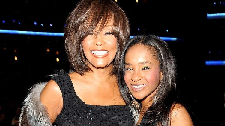 Bobbi Kristina Brown y Whitney Houston