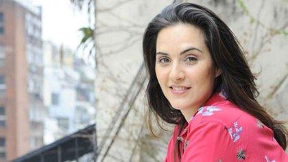 Julieta Díaz, otra de las actrices que se manifestó a favor de la fórmula Fernández-Fernández
