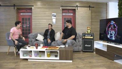 """""""El único fue Maradona"""", remató Yordi en la charla con el comediante Mau Nieto y el músico Román Torres (Foto: Captura de pantalla/ YouTube/ El Frasco)"""
