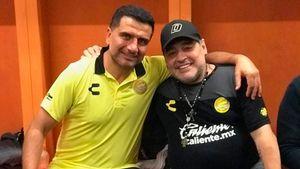 Las confesiones del ayudante de campo de Maradona en Dorados: qué hacía sufrir a Diego, por qué era difícil decirle que no y el sueño que no llegó a cumplir
