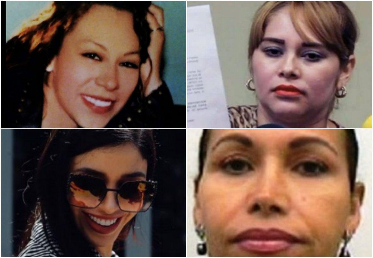 """Ex reclusas, diputadas, reinas de belleza: la lista de mujeres del """"Chapo"""" (Foto: archivo)"""