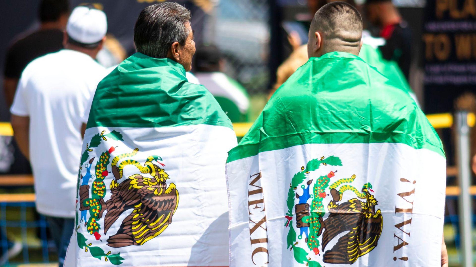 La afición mexicana está siempre presente en los juegos del Tri en EEUU (Foto: Twitter)