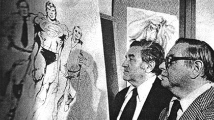 Jerry Siegel y Joe Shuster, creadores Superman