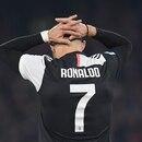 Soccer Football - Serie A - Napoli v Juventus - Stadio San Paolo, Naples, Italy - January 26, 2020 Juventus' Cristiano Ronaldo reacts REUTERS/Alberto Lingria