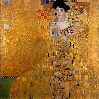 """""""Retrato de Adele Bloch-Bauer I"""" (1907) en Neue Galerie, Nueva York"""
