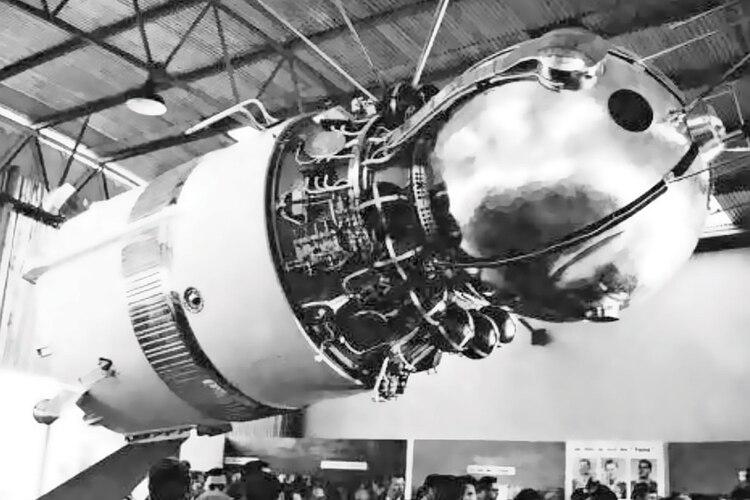 La Vostok, la nave que llevó a Yuri Gagarin al espacio